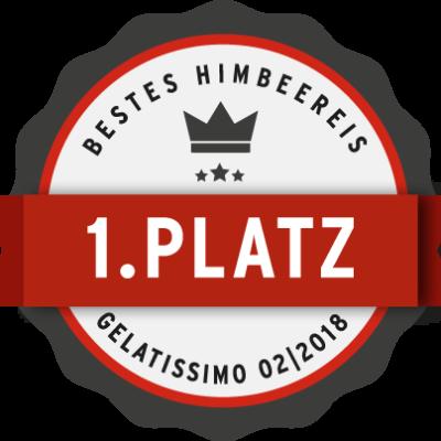 Eiscafe Potsdam Himbeereis Siegel